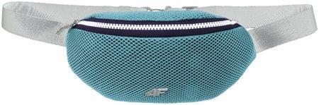 Bederní taška, ledvinka 4F AKB005 světle modrá, H4L19
