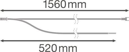 Elektrické konektory pro instalaci světelné linie svítidel LINEAR DALI 1500 IndiviLED THROUGH-WIRING KIT LEDVANCE