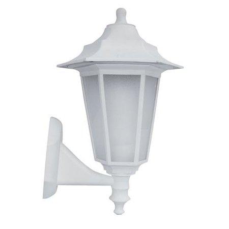 Fasádní lampa, nástěnná Begonya bílá