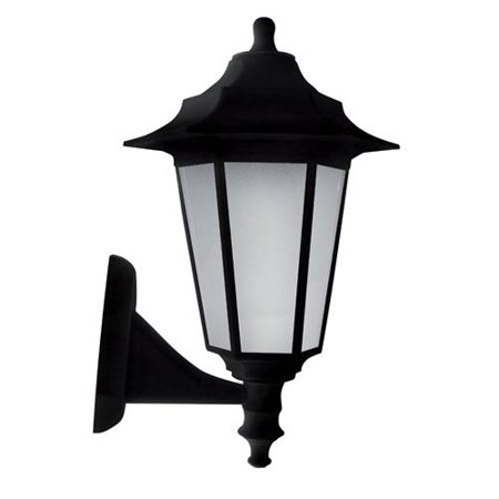 Fasádní lampa, nástěnná Begonya černá