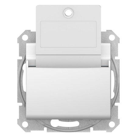Hotelový vypínač bílá Sedna SDN1900121 Schneider Electric