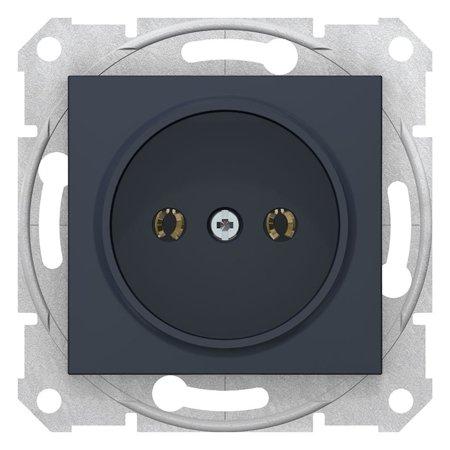 Jednoduchá zásuvka 2P, grafitová Sedna SDN2900170 Schneider Electric