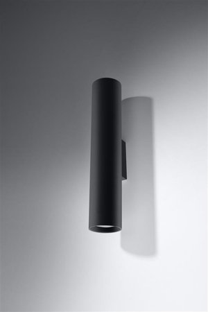Kinikiet LAGOS 2xGU10 černá Sollux SL.0330