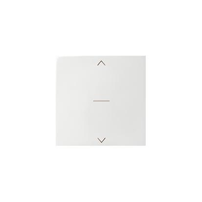 Klávesa vypínače žaluzii Jednoklávesového, bílý Kontakt Simon 82 82033-30