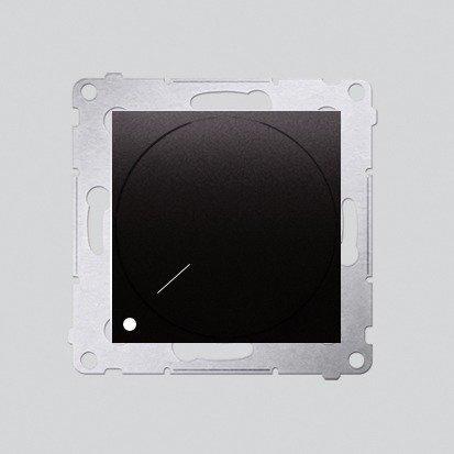 Kontakt Simon 54 Premium Antracit Stmívač otočný dvoupólový do stmívatelných LED DS9L2.01/48