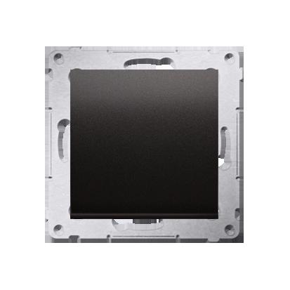 Kontakt Simon 54 Premium Antracit Tlačítko jednopólové rozkratovací bez piktogramu rychlospojka, DPR1.01/48