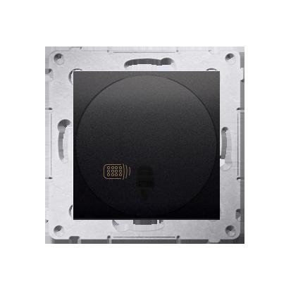 Kontakt Simon 54 Premium Antracit stmívač tlačítkový a dálkově ovládaný (modul) 20–500 W, DS13T.01/48