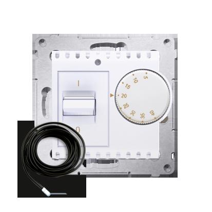 Kontakt Simon 54 Premium Bílý Regulátor teploty s vnějším senzorem (modul) DRT10Z.02/11