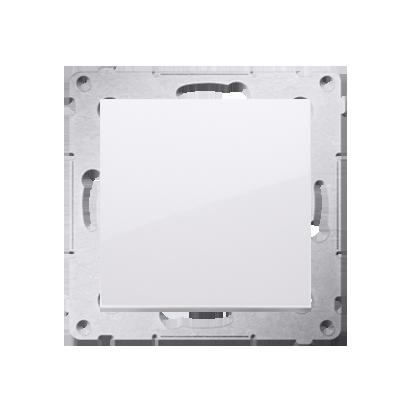 Kontakt Simon 54 Premium Bílý Tlačítko jednopólové rozkratovací bez piktogramu rychlospojka, DPR1.01/11