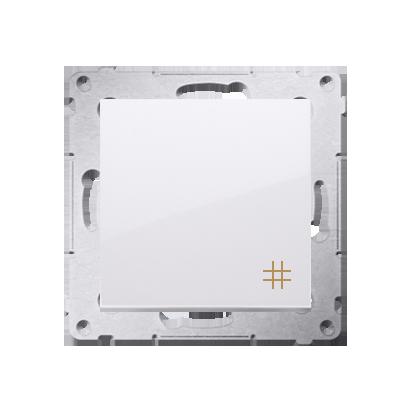 Kontakt Simon 54 Premium Bílý Vypínač křížový (modul) X šroubové koncovky, DW7A.01/11