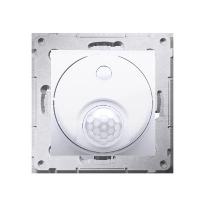 Kontakt Simon 54 Premium Bílý Vypínač se senzorem pohybu s relé se zabezpečením (modul) DCR11P.01/11