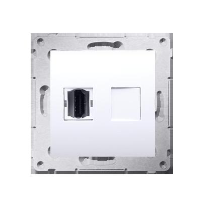 Kontakt Simon 54 Premium Bílý Zásuvka HDMI (modul), DGHDMI.01/11