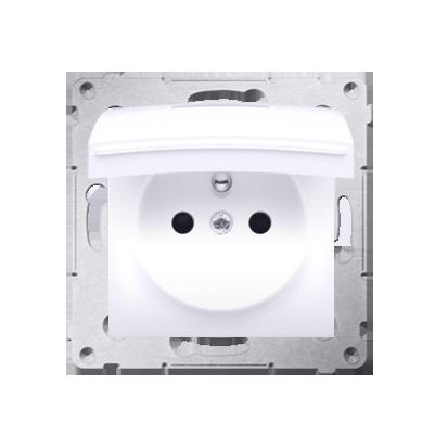Kontakt Simon 54 Premium Bílý Zásuvka pro verzi IP44 DGZ1BZ.01/11
