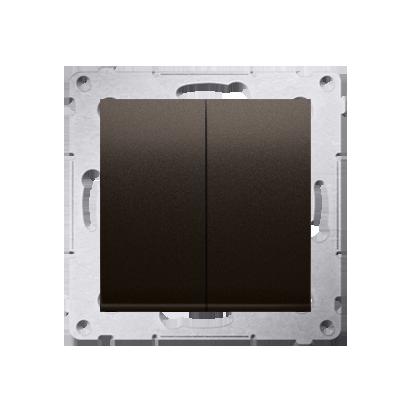 Kontakt Simon 54 Premium Hnědá, matný Přepínač sériový pro verzi IP44 DW5B.01/46