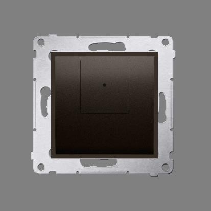 Kontakt Simon 54 Premium Hnědá, matný Stmívač dvou tlačítkový (modul) 40–500 W (300 VA), D75310.01/46