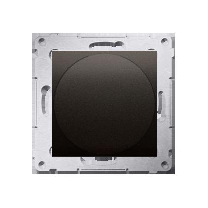 Kontakt Simon 54 Premium Hnědá, matný Světelný signalizátor LED, světlo červené (modul) DSS2.01/46