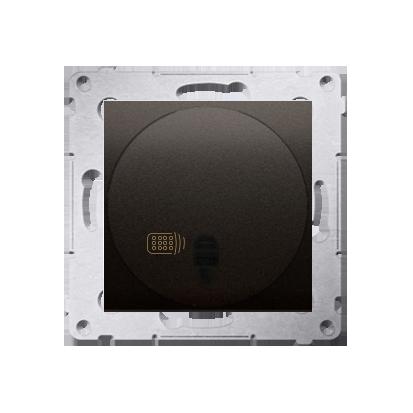 Kontakt Simon 54 Premium Hnědá, matný Vypínač dálkově ovládaný (modul) 20-500 W, DWP10T.01/46