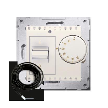 Kontakt Simon 54 Premium Krémová Regulátor teploty s vnějším senzorem (modul) DRT10Z.02/41
