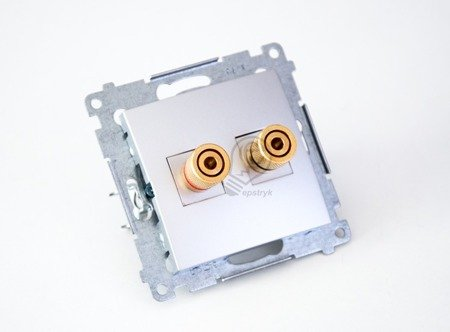 Kontakt Simon 54 Premium Krémová Zásuvka reproduktoru jednonásobná (modul) DGL2.01/41