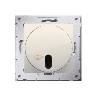 Kontakt Simon 54 Premium Krémová stmívač tlačítkový a dálkově ovládaný (modul) 20–500 W, DS13T.01/41