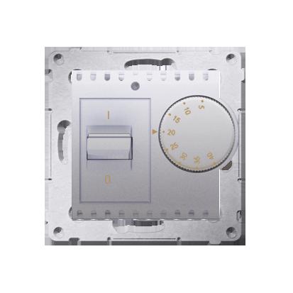 Kontakt Simon 54 Premium Stříbrná Regulátor teploty s vnitřním senzorem (modul) DRT10W.02/43