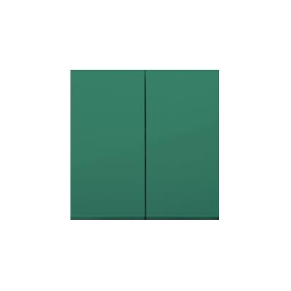 Kontakt Simon 54 Premium Zelená Klávesy pro vypínače/Tlačítek dvojnásobných, DKW5/33