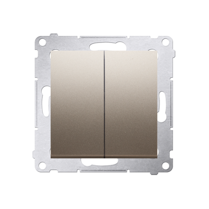 Kontakt Simon 54 Premium Zlatá Přepínač sériový pro verzi IP44 DW5B.01/44
