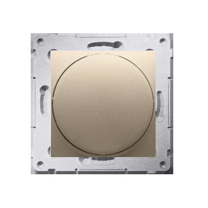 Kontakt Simon 54 Premium Zlatá Regulátor 1–10 V K zapínání a regulaci světla s napájecím zdrojem s regulací proudu 1–10 V, DS9V.01/44