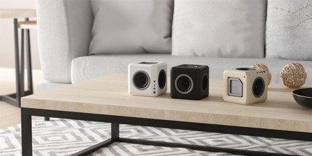 Kostka głośnik audioCube Modular Portable Black Allocacoc