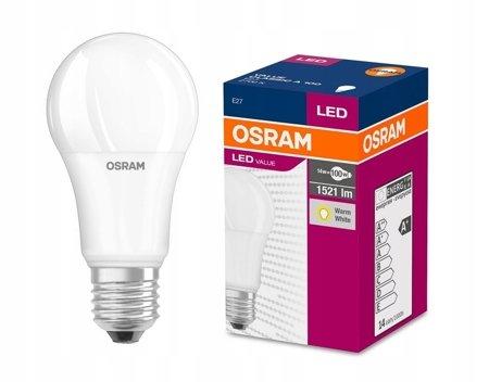 LED žárovka Osram Value E27 13W 2700K A60 1521lm