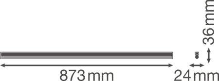 Lineární svítidlo LINEAR COMPACT HIGH OUTPUT 900 15W 3000K LEDVANCE