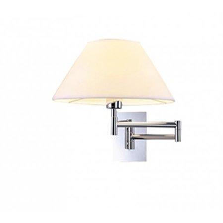 Nástěnná lampa Trapezio bílá chrom Azzardo MB2311-S WH