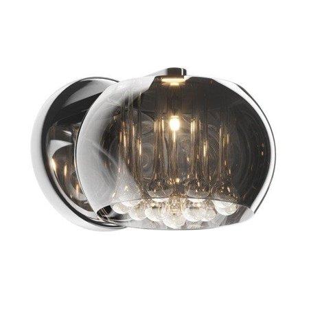 Nástěnná lampa stříbrná transparentní 1xG9 Zuma Line Crystal Wall W0076-01D-F4FZ