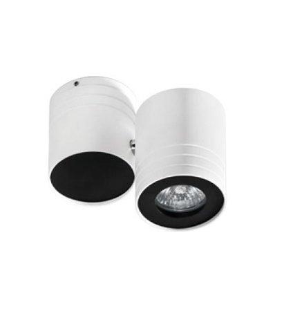 Nástěnná lampa-stropní Lalo bílá černá Azzardo GM4101