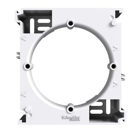 Nástěnná základna rozšiřující, bílá Schneider Electric Asfora EPH6100221
