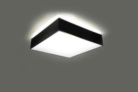 Nástěnné svítidlo HORUS černá 1xE27 Sollux SL.0142