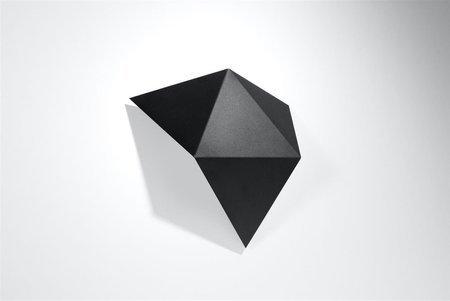 Nástěnné svítidlo SOLIDO černá 2xG9 Sollux SL.0421