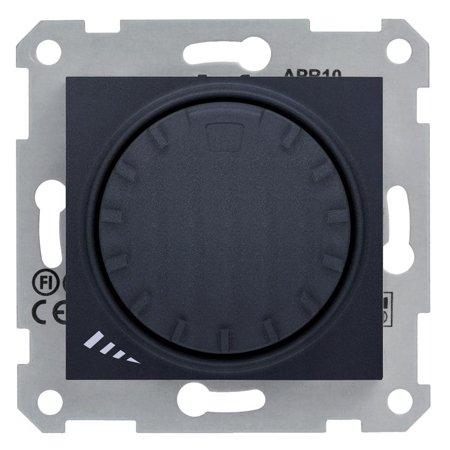 Otočný - tlačítkový stmívač grafitová RL 1000VA/6 Sedna SDN2200970 Schneider Electric