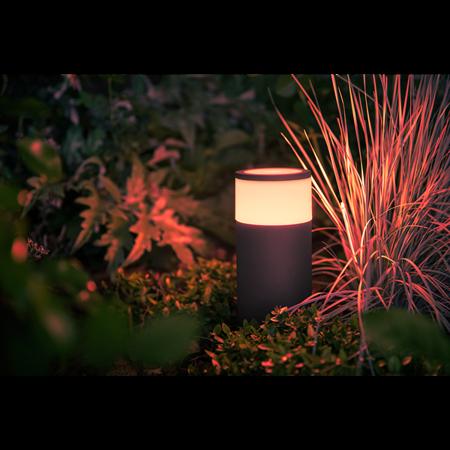 Philips Hue lampa vnější černá Calla White and color ambiance 1742030P7