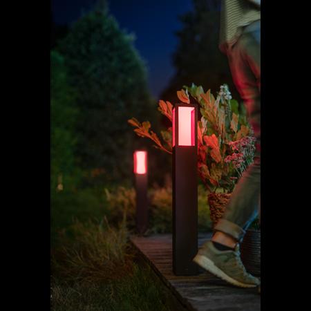 Philips Hue lampa vnější černá Impress 8W 77cm 1743230P7