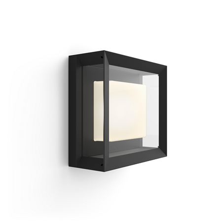 Philips Hue malá nástěnná lampa vnější černá Econic 11W 1743830P7