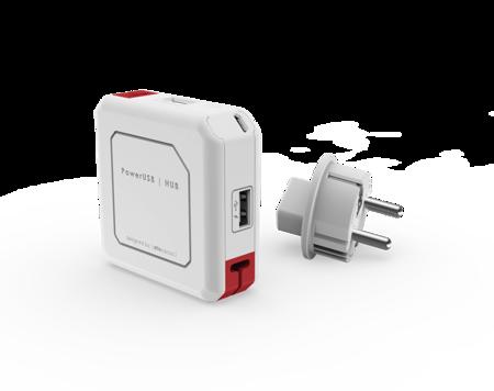 PowerUSB hub USB, 4 porty, 2.1 A, 5V Allocacoc
