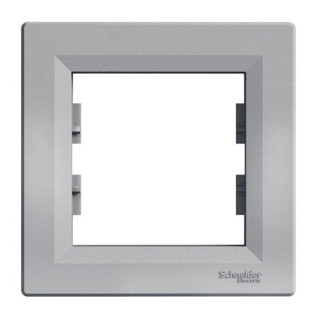 Rámeček 1-násobný, hliník Schneider Electric Asfora EPH5800161