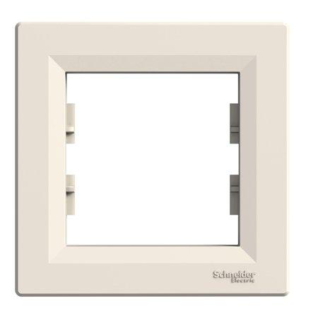 Rámeček 1-násobný, krémová Schneider Electric Asfora EPH5800123