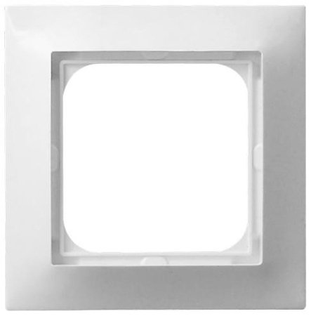 Rámeček jednonásobný, bílý, R-1Y/00, Ospel Impresja