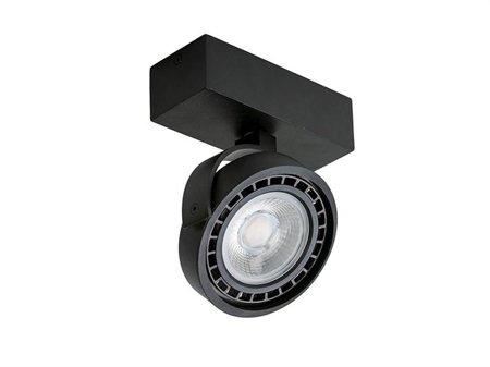 Reflektor Jerry 1 230V 15W černá Azzardo GM4113-230V