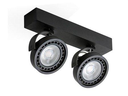 Reflektor Jerry 2 230V 16W černá Azzardo GM4205-230V