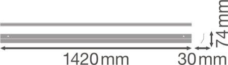 Reflektor do svítidla LINEAR ULTRA OUTPUT 1500 ACCESSORIES LEDVANCE
