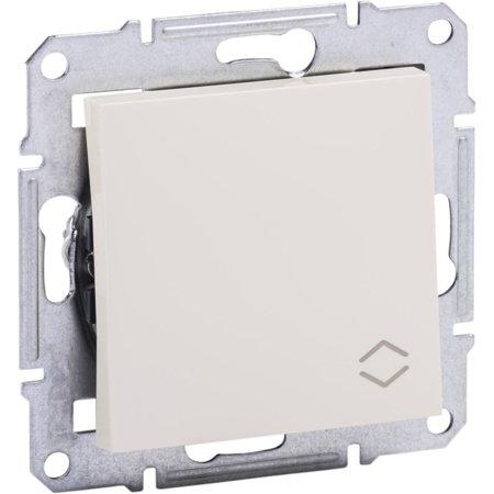 Schodišťový vypínač bez rámečku, krémová Schneider Electric Asfora EPH0401423