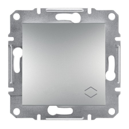 Schodišťový vypínač šroubové svorky bez rámečku, hliník Schneider Electric Asfora EPH0400361